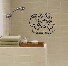 duschbad zitate bad blase wandaufkleber wasserfeste glas fenster tür abziehbilder hause aufkleber wandkunst