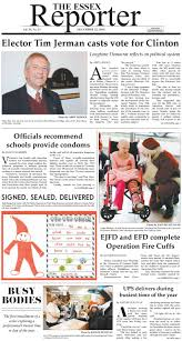 Pinecrest Christmas Tree Farm by December 22 2016 The Essex Reporter By Essex Reporter Issuu