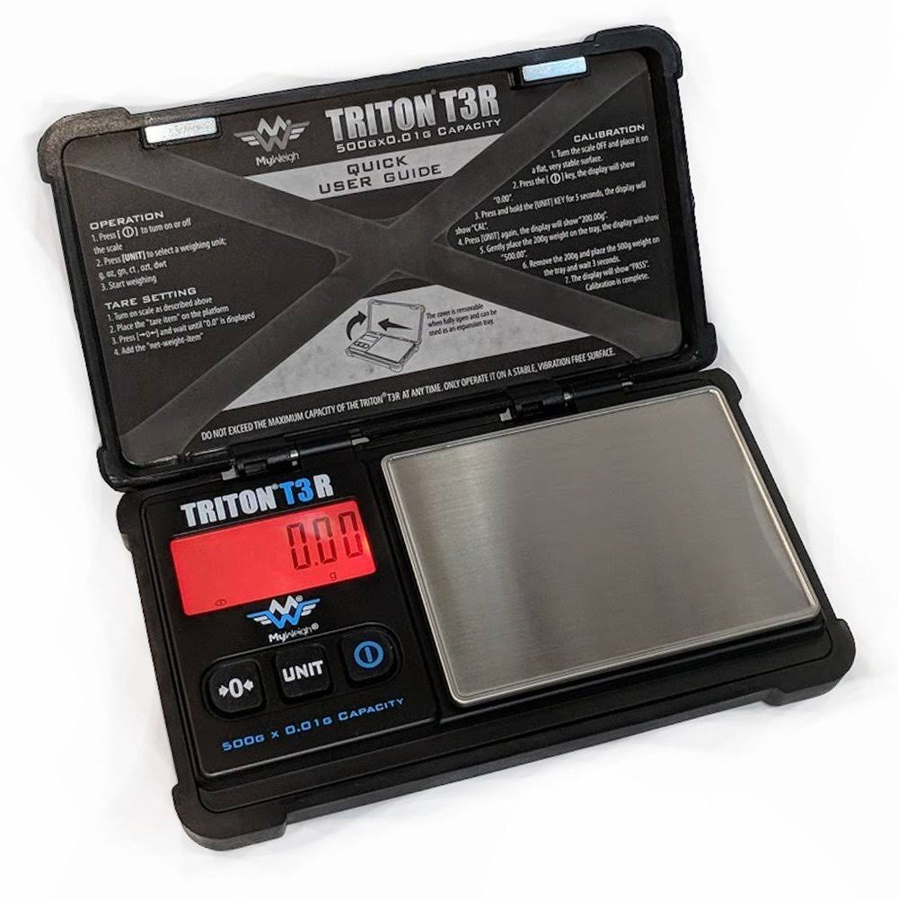 Triton My Weigh Precision Pocket Scale - 500g x 0.01g