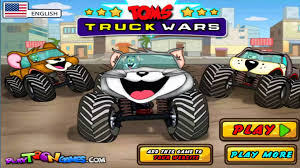 100 Monster Trucks Games Tom And Jerry Cartoons Racing Animals Cartoon For Kids Songs Of Katy Perry