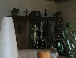 schrank antik wohnzimmer bücherschrank jugendstil wunderschön