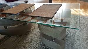 tisch wohnzimmer tisch glas tisch wie neu