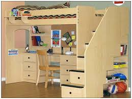 Free Loft Bed Plans For College by Kids Loft Beds With Desk Image For Throughout Inspiration Decorating