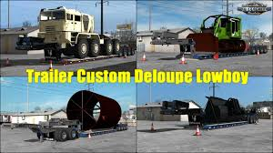 Trailer Custom Deloupe Lowboy V1.0 (1.30.x) » American Truck ... Mack Granite Lowboy Truck Chicago Water Management Lowboy Flickr Tractorlowboy Trailer West Texas Dirt Contractors Cjc Kenworth W900 With Trailer Truck Icon Stock Vector Illustration Of Industry Speccast 164 Dcp Peterbilt 579 Semi Truck Wrenegade Lowboy John China 4 Axles 80tons Gooseneck Semi Heavy Duty And Semitrailer Lowboys Tank Vac Xl 90 Mde V60 For American Simulator Vintage Tonka Steam Shovel 13685 Trucking Faulks Bros Cstruction Hauling Services By Reiner Contracting Uses Trailers 2018 Landoll 855e53 For Sale Auction Or Lease Great