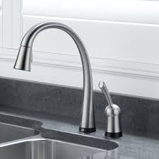 Kohler Touchless Faucet Sensor Not Working by Delta Touch Kitchen Faucet Shop Delta Cassidy Touch Arctic