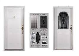 modern door Mobile Home Entry Doors