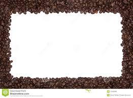 Coffee Bean Borders Clipart