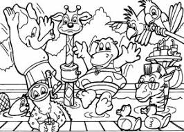 Animal Coloring Pages Children Throughout For Toddlers