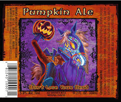 Ichabod Imperial Pumpkin Ale by The 19 Spookiest Pumpkin Beer Labels Of 2016 Thirsty Bastards