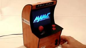 Mame Arcade Machine Kit by Mini Arcade With Raspberry Pi And 5 6