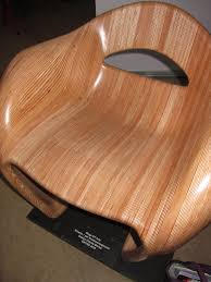 100 Plywood Rocking Armchair Mamulengo By Eduardo Baroni 3D Printed Wood Chair Designed By Claude Barlier Made With The