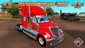 100 Lonestar Truck International Interior V10 Beta 122x ETS2 Mods