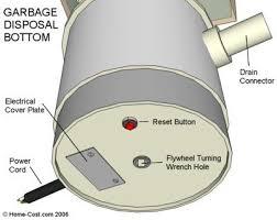 visual guide to garbage disposal anatomy