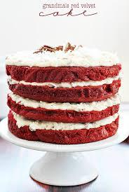 Grandmas Red Velvet Cake