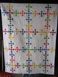 double nine patch whole quilt