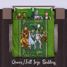 Harry Potter Queen Bed Set by The Wizard Of Oz Duvet Personalized Name Duvet Cover Bedding Set