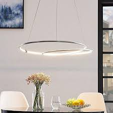 lindby led pendelleuchte dimmbar modern in alu aus aluminium ua für wohnzimmer esszimmer a inkl leuchtmittel hängeleuchte