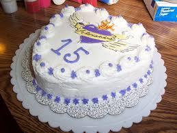 Alexandra s 15th Birthday Cake confetti white cake filled …