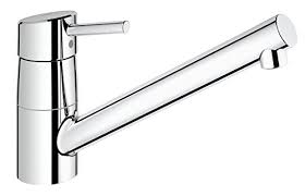 grohe feel cuisine grohe 32659001 concetto kitchen tap low spout 140 degree swivel