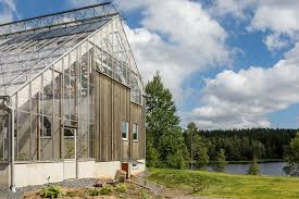 Gorgeous Solar-powered Greenhouse Home In Sweden Hits The Market ... Awesome Patio Greenhouse Kits Good Home Design Fantastical And Out Of The Woods Ultramodern Modern Architectures Green Design House Dubbeldam Architecture Download Green Ideas Astanaapartmentscom Designs Southwest Inspired Rooftop Oasis Anchors An Diy Greenhouse Also Small Tips Residential Greenhouses Pool Cover Choosing A Hgtv Beautiful Contemporary Decorating Classy Plans 11 House Emejing Gallery Simple Fabulous Homes Interior
