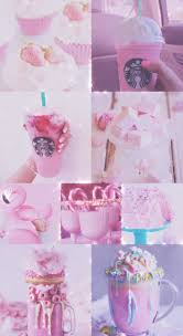 Unicorn Rose Gold Starbucks Wallpaper Beautiful Background Hd IPhone Android Sparkly Glitter Sweets