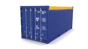 100 Shipping Container Model 20ft Open Top 3D In S 3DExport