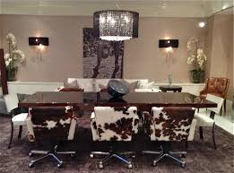 Dining Room Chair Covers With Arms by Cozy Cowhide Dining Chairs 32 Cowhide Dining Room Chair Covers
