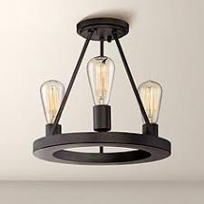 Lamps Plus San Mateo by Black Close To Ceiling Lights Lamps Plus