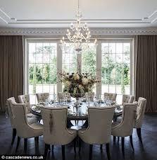 elegante esszimmer möbel innenarchitektur wohnen