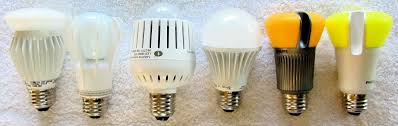 what are the different types of led bulbs used on industrial and