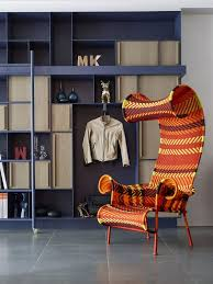 Indoor Chairs Bright Chair Furniture Coloured Leather Dining Style ...