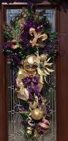 Mardi Gras Wooden Door Decorations by 1000 Images About Mardi Gras Decorations On Pinterest Deco Mesh