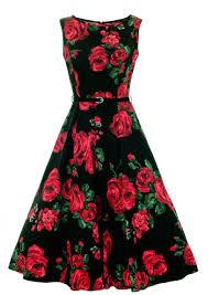 lady vintage audrey hepburn dress mocha polka dot swing rockabilly