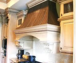 habillage de hotte de cuisine nettoyer une hotte de cuisine en bois mzaol com