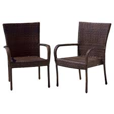 Kailua Outdoor Wicker Dining Arm Chairs, Set Of 2, Brown Bainbridge Ding Arm Chair Montecito 25011 Gray All Weather Wicker Solano Outdoor Patio Armchair Endeavor Rattan Mexico 7 Piece Setting With Chairs Source Chloe Espresso White Sc2207163ewesp Streeter Synthetic Obi With Teak Legs Outsunny Coffee Brown 2pack Modway Eei3561grywhi Aura Set Of 2 Two Hampton Pebble