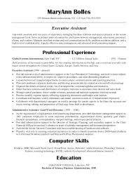 Resume Objective Examples For Medical Office Assistant Administrative Jobs Best Ideas Of Executive Resumes Samples Example