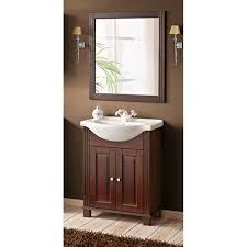 badezimmer badmöbel set massiv 65cm keramik waschtisch