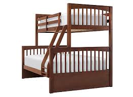 jordan twin over full bunk bed cherry raymour flanigan