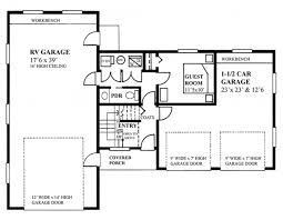 Traditional Style House Plan 2 Beds 1 5 Baths 1173 Sqft Rv Garage Floor Plans