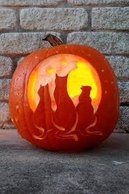 Alice In Wonderland Pumpkin Carving Patterns by Best 25 Cat Pumpkin Carving Ideas On Pinterest Cat Pumpkin