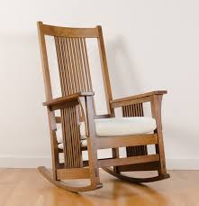 mission style spindle rocking chair by stickley ebth