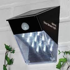 pir motion sensor solar light led solar wall light led solar