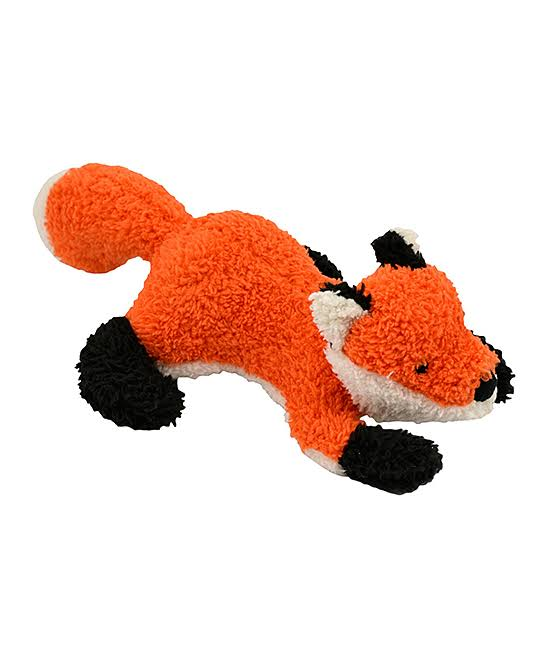 Tall Tails 88216747 Squeaker Fox Dog Plush Toy - 12 in.