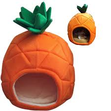 Creative Pineapple Dog House S And L Cotton Dog Bed Small Pet Cat