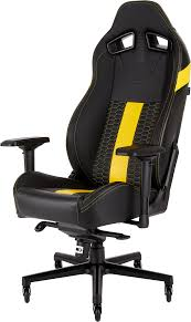 CORSAIR T2 ROAD WARRIOR Gaming Chair — Black/Yellow The Craziest Gaming Chair Arkham Knight Pc Fix More Gaming Chairs Buyers Guide Frugal Chair Kids Fniture Walmartcom 10 Awesome Chairs Under 100 Our Best Of 2019 Reviews By Pewdpie Edition Throttle Series Cheap Under Pro Wide 200 Budgetreport 8 Best Ergonomic Office Chairs The Ipdent