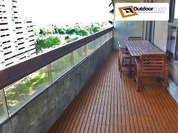 Outdoor Balcony And Terrace Flooring Ideas Floor