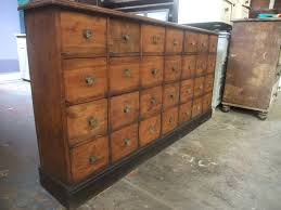 Apothecary Bank of Drawers Chest of Drawers