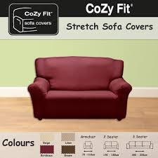 3 Seater Sofa Covers by 2 Seater Easy Stretch Elastic Fabric Sofa Settee Slip Cover