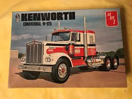 AMT KENWORTH Conventional W-925 1/25 Model Trucks - $20.50 | PicClick
