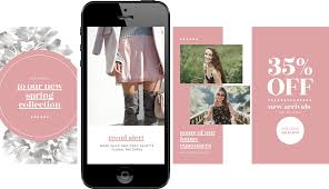 Free Instagram Stories Templates For Your Retail Store Annoucement